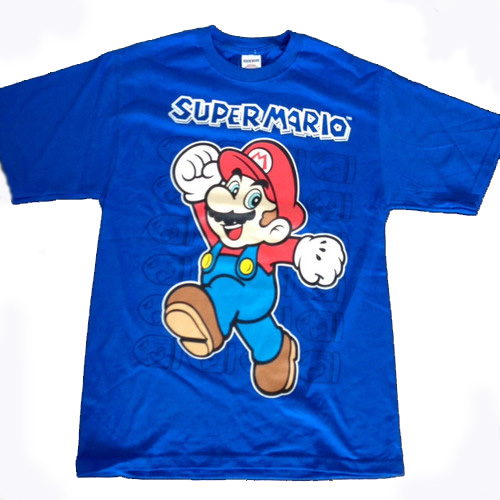 94f275cd4d7 NEW NINTENDO SUPER MARIO BROS T-SHIRT NWT SMALL OR MEDIUM MENS SIZE SALE!   12.95